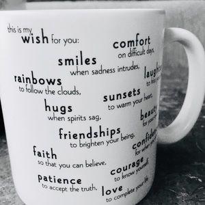 🎈2 for $20🎈My Wish For You Mug